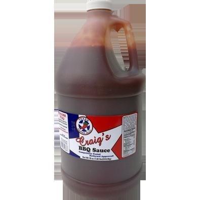 Texas Pepper Jelly- Craigs BBQ Sauce-1 gal