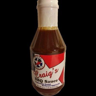 Texas Pepper Jelly- Craigs BBQ Sauce 20oz