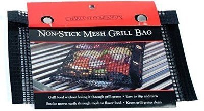 Charcoal Companion-Nonstick Mesh Grilling Bag-Medium