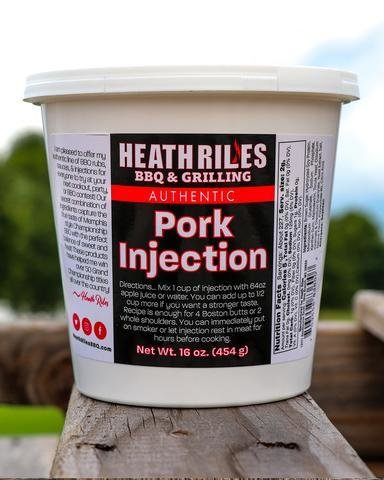 Heath Riles-Pork Injection