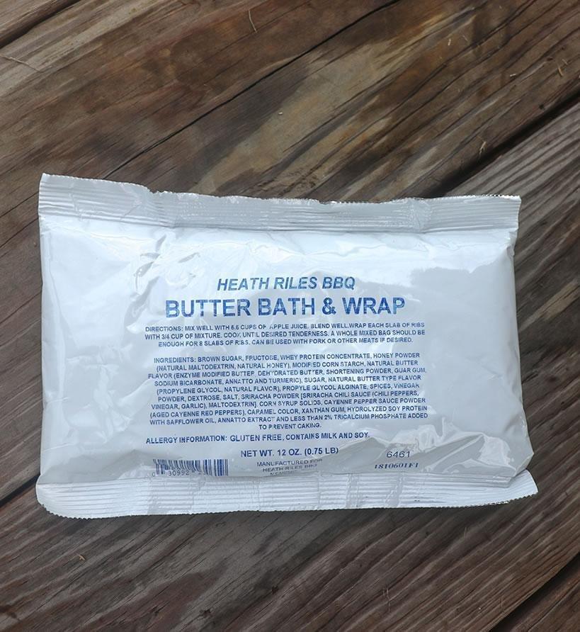 Heath Riles Butter Bath & Wrap