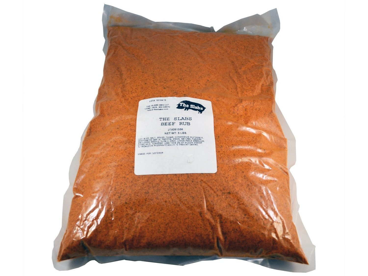 The Slabs Wow Up your Cow Competition Quality Beef Rub, 5lb