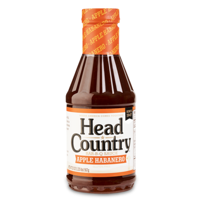 Head Country Apple Habanero- 20oz