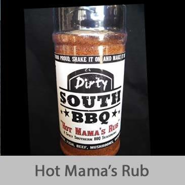 Dirty South BBQ-Hot Mama's Rub