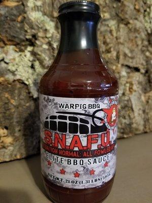 Warpig BBQ -S.N.A.F.U.-Elite BBQ Sauce