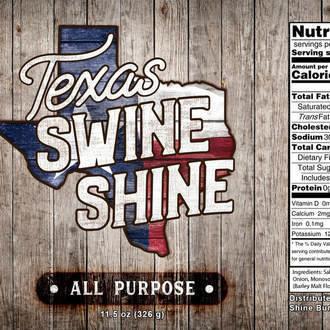 Texas Swine Shine-All-Purpose Rub