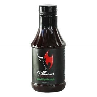 Tillman's BBQ sauce- Chipotle Apple- 21.4oz