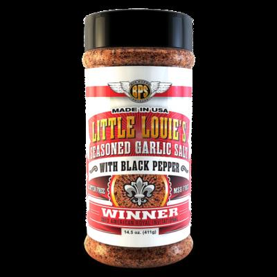 Big Poppa Smokers Little Louie's Garlic Salt w/ Black Pepper - 14.5oz