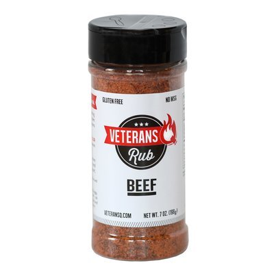 Veteran Q- Beef Rub 7oz