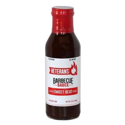 Veteran Q- Sweet Heat BBQ Sauce 12oz