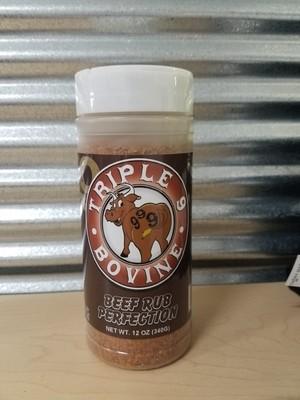 Triple 9- Bovine Beef Perfection Rub- 12oz
