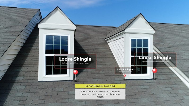 Roof Inspection Images and Video Packages