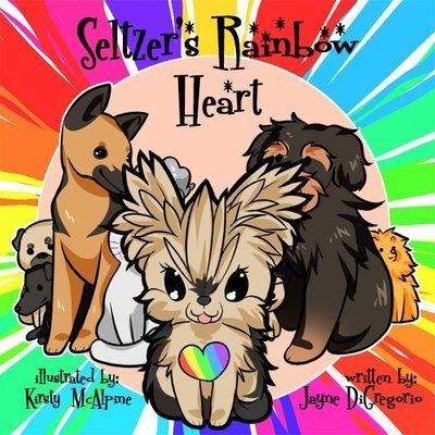 Seltzer's Rainbow Heart