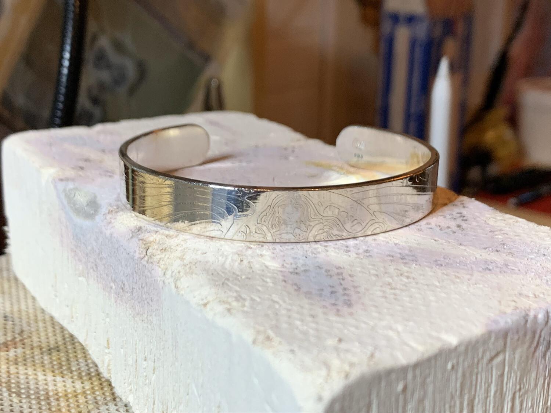 Deco Sterling Silver Bracelet