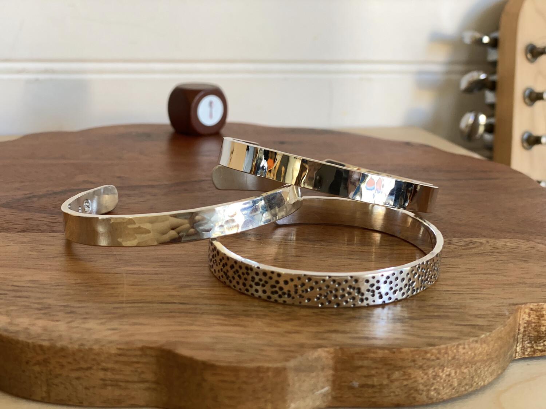 Hand Made Sterling Or 999 Bracelet
