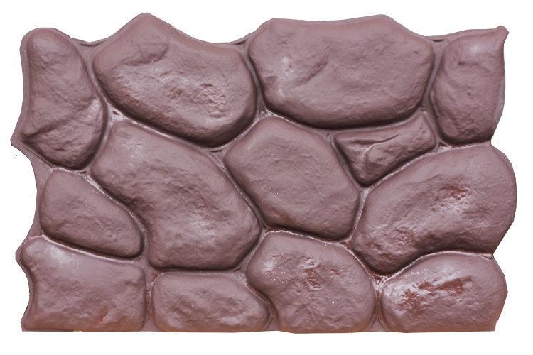 """Панель """"Камень"""" коричневая"""