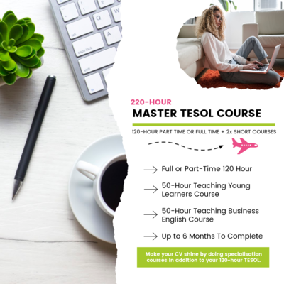 220-Hour TESOL Certification