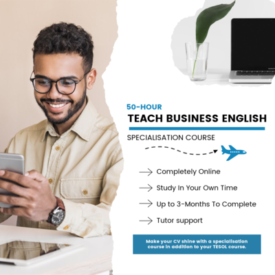 50-Hour Specialisation: Teaching Business English