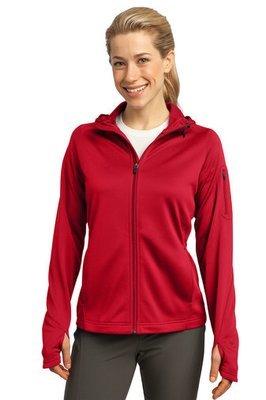 Ladies Tech Fleece Full Zip Hooded Jacket