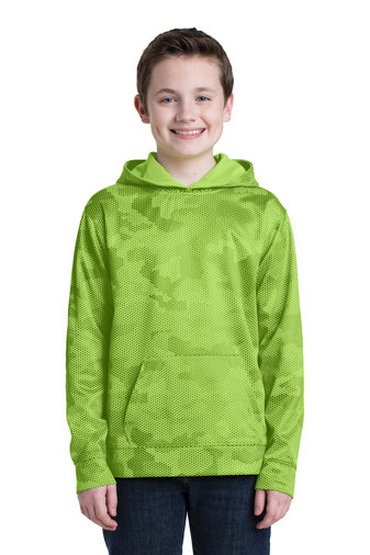 Youth Camohex Fleece Hooded Pullover