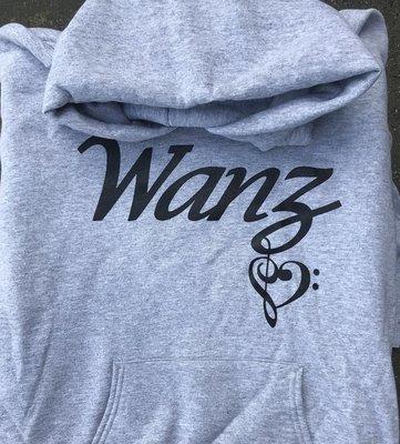Wanz Hoodie - Grey