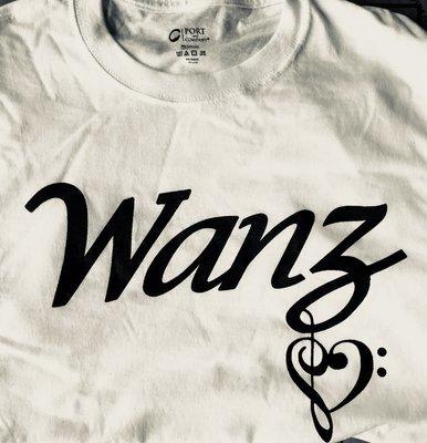 Wanz Tee - White