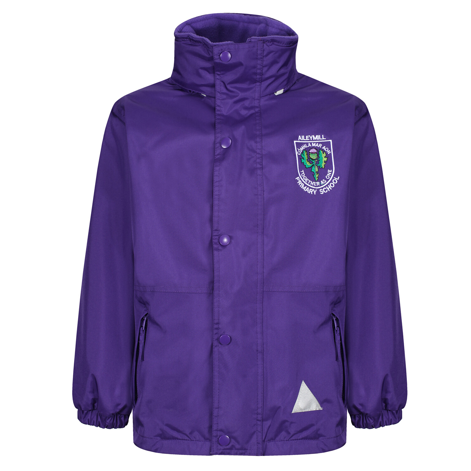 Aileymill Primary Heavy Rain Jacket (Fleece lined)