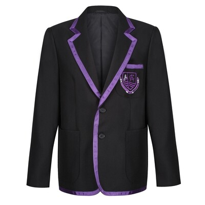 Clydeview Academy Polyester Blazer with Braid