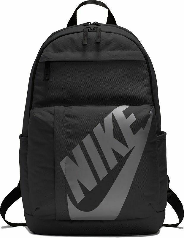 Nike Elemental Backpack (In Black with Grey Nike Tick) 'Best Seller'