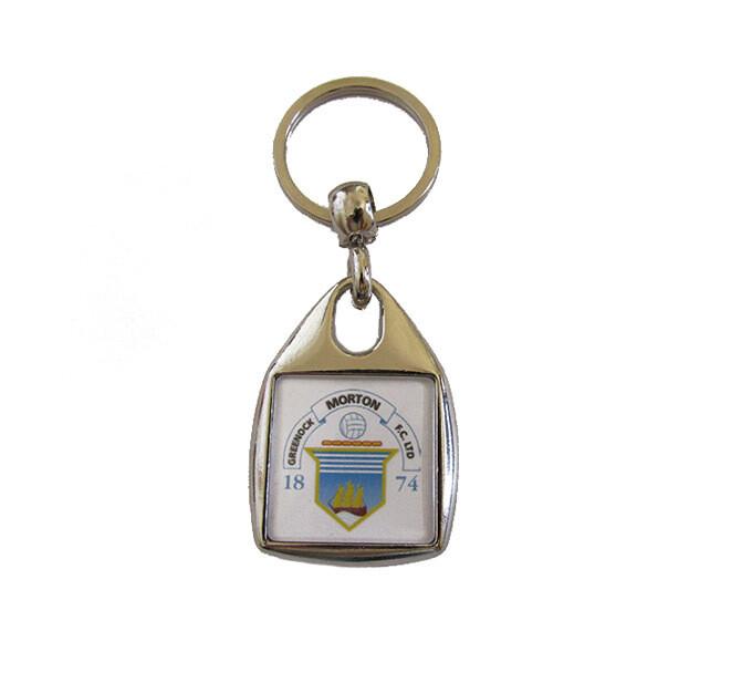 Morton Key Ring (Square)