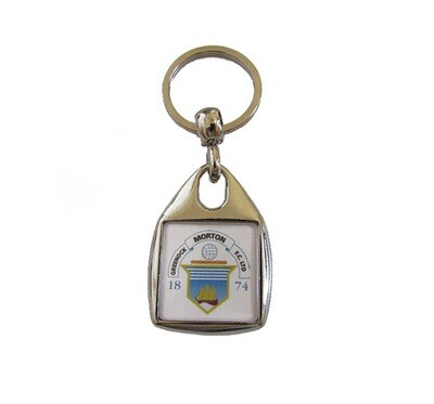 Morton Key Ring (Square)