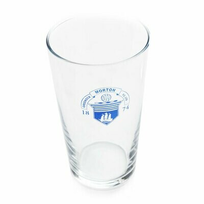 Morton Pint Glass