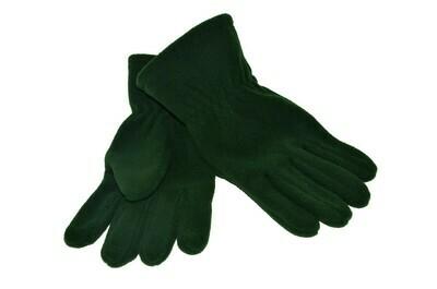 'Bottle Green' Fleece Gloves
