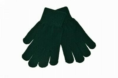 'Wool' Glove in Bottle Green