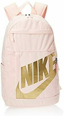 Nike Backpack in Pink with Gold Detail (BA5876)