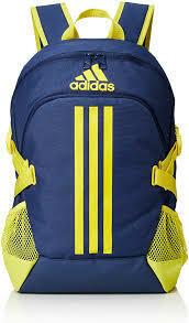 Adidas Backpack BKAD (Royal with Yellow)