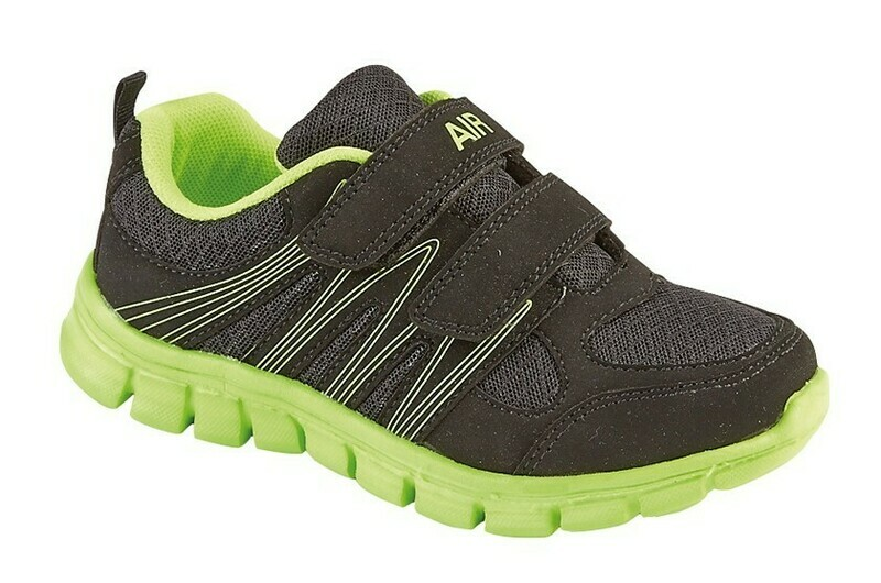Double Velcro Trainer (Size 10 - Size 2) (RCST832AE)