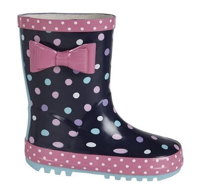 Girls Wellie (Infant Size 4 to Child Size 2) (RCSW397NC)