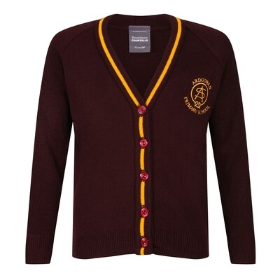 Ardgowan Primary Knitted Cardigan with stripe