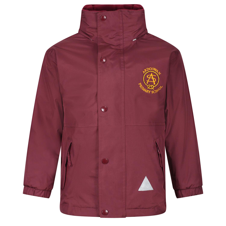 Ardgowan Primary Heavy Rain Jacket (Fleece lined)