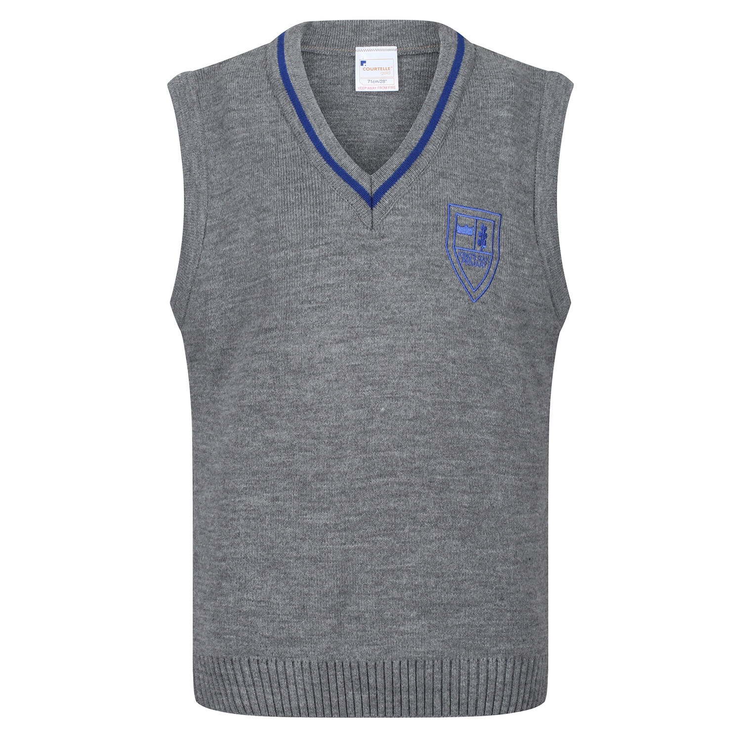 King's Oak Primary Knitted Tank Top with stripe
