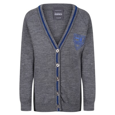 King's Oak Primary Knitted Cardigan with stripe