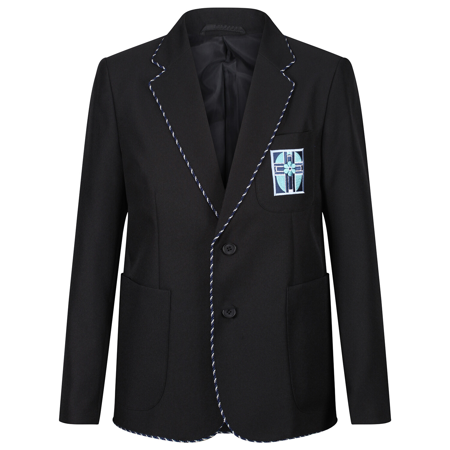 Notre Dame High Blazer with Braid