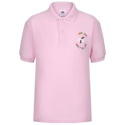 Rainbow Family Centre Poloshirt (choice of colours)