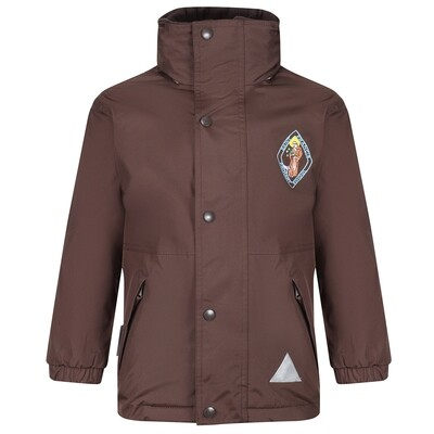 St Francis Primary Heavy Rain Jacket (Fleece lined)