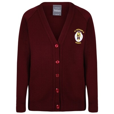 St Michael's Primary Knitted Cardigan