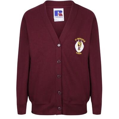 St Michael's Primary Sweatshirt Cardigan