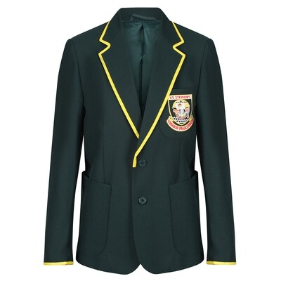St Stephen's High Blazer (S5-S6) with Gold Taping