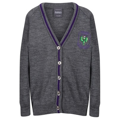 Aileymill Primary Knitted Cardigan with stripe