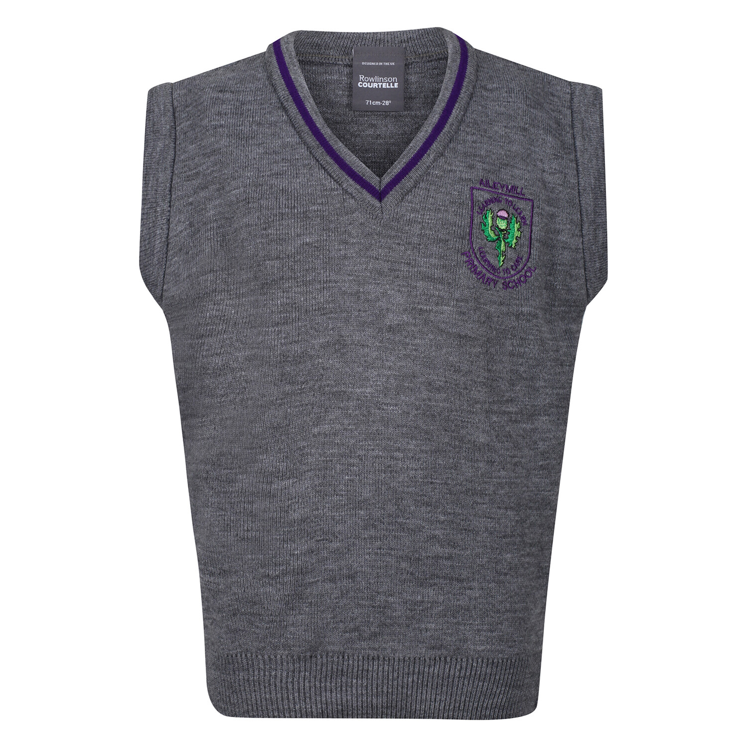 Aileymill Primary Knitted Tank Top with stripe